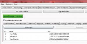 ACCESS MANAGER - Screenshot