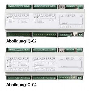 IQ-C2 und IQ-C4 zur Türsteuerung