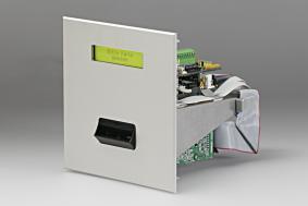 Stand-Alone-Zutritts- und Zufahrtskontrolle mit motorischem Kartenleser für Magnetstreifenkarten im ISO-Format